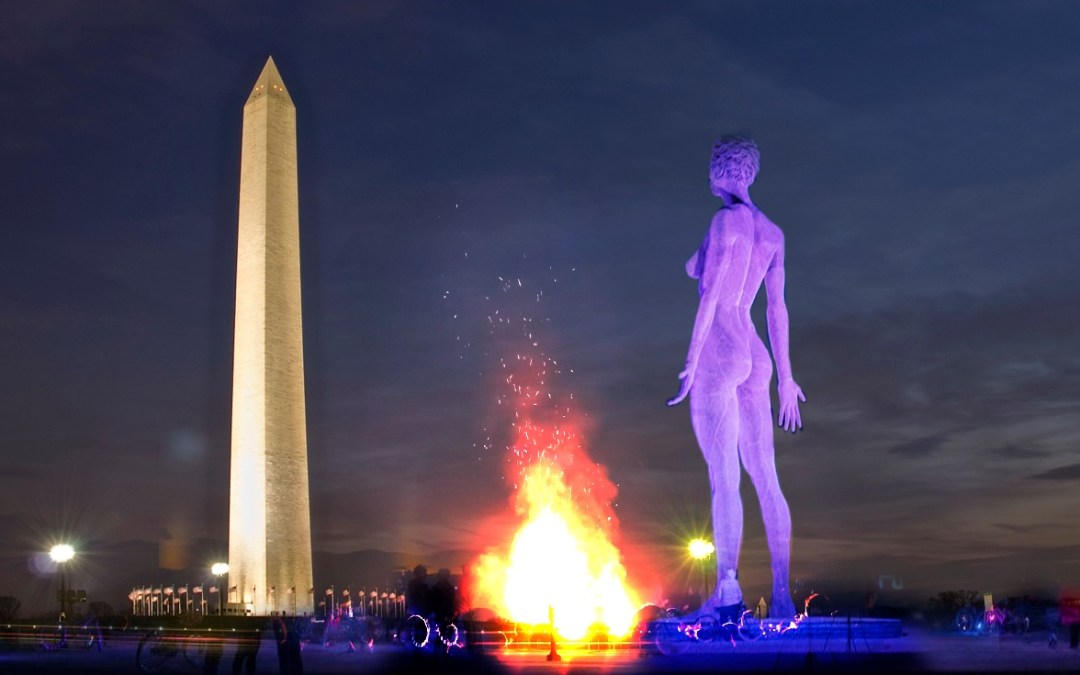 National Park Service Retracts Approval to Install R-Evolution Sculpture of Woman on National Mall at 11th Hour