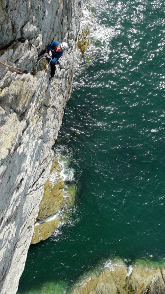 Annie following over the Irish Sea on Britomartis.