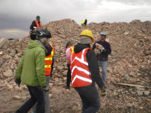 Connaught brick project landfill volunteerse