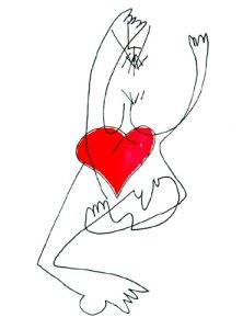 hombre con corazon II