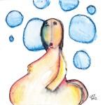 panza y burbujas