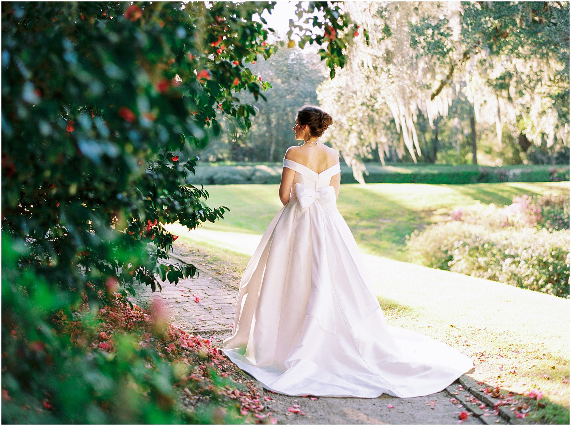 Middleton Place Plantation Bridal Portraits