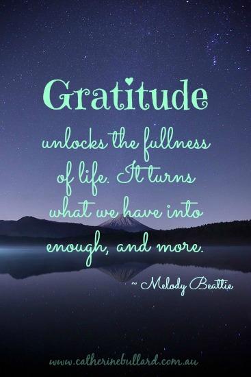 power of gratitude