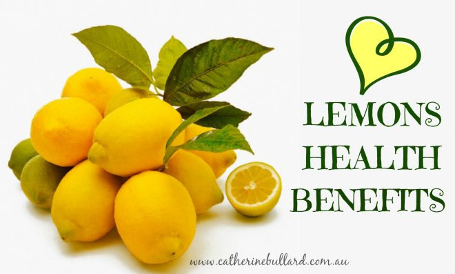 lemons health benefits
