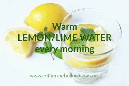 lemon lime water benefits