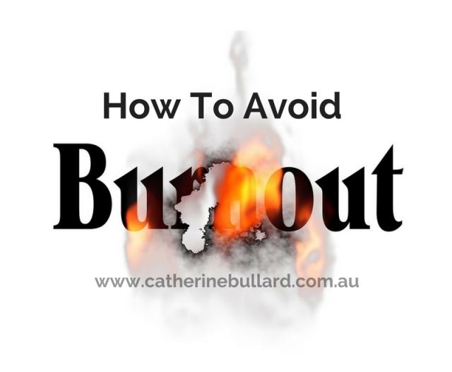 adrenal fatigue avoid burnout
