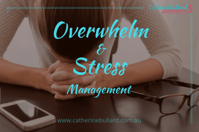 manage overwhelm