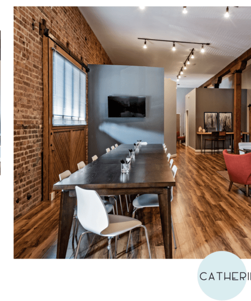 Before and After Image of a Commercial Interior Design Project