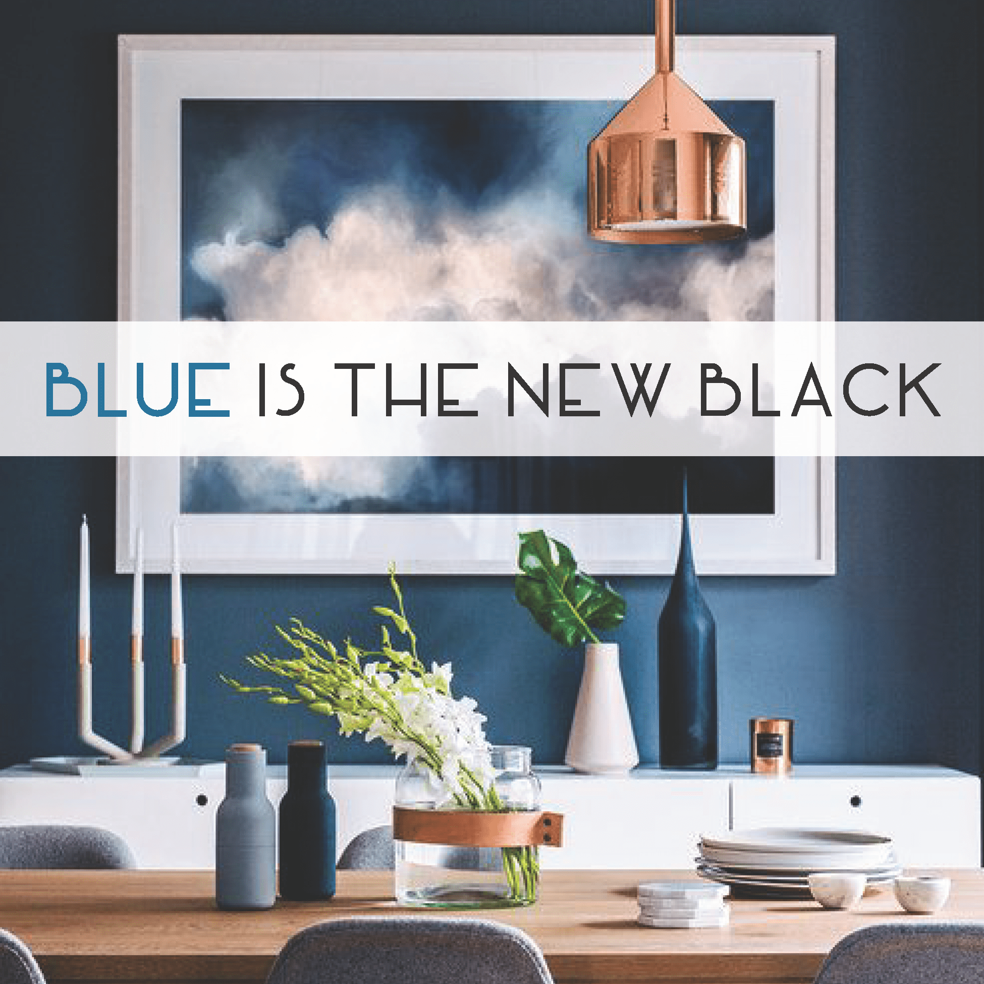 Use Navy blue as a great alternative to black