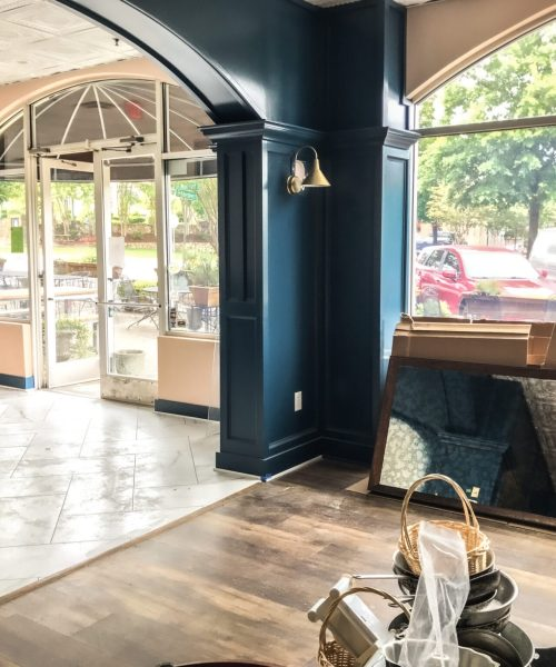 Updating the Market and Moss Restaurant in Southern Village - Cat French Design