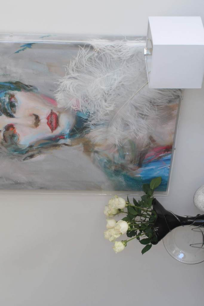 David Bowie Living Room Painting - Cat French Design