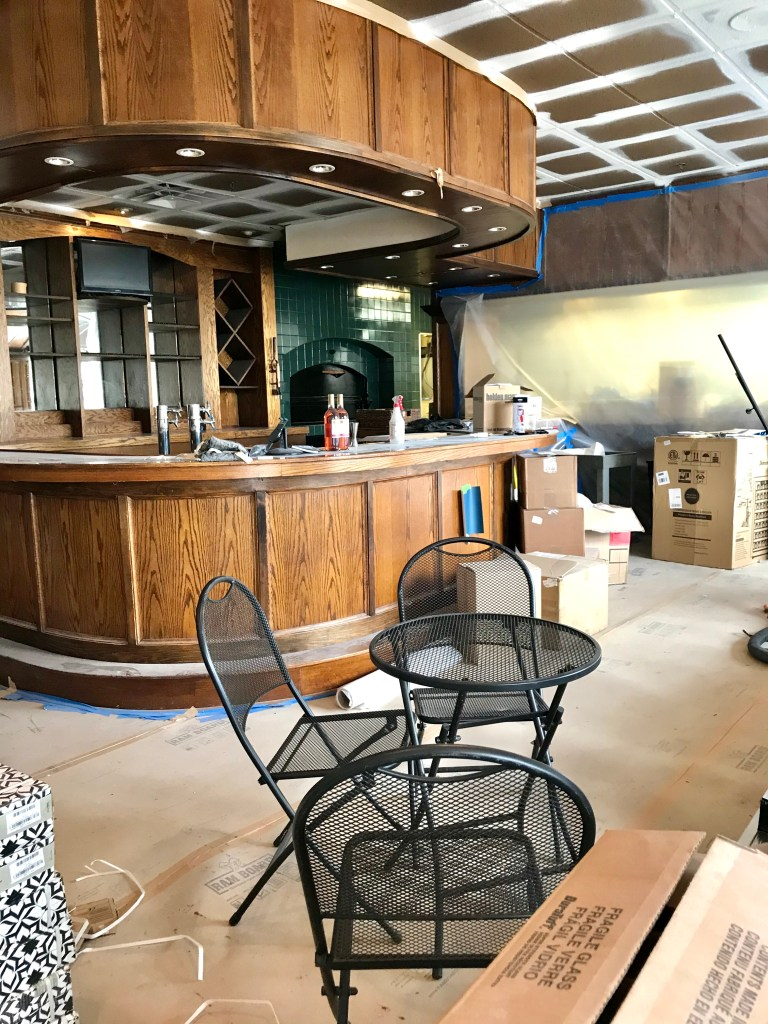 Previous bar area at Market and Moss