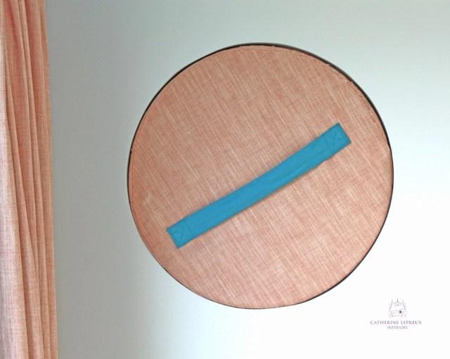 curtain maker Edinburgh Fife round unusual shape window treatment