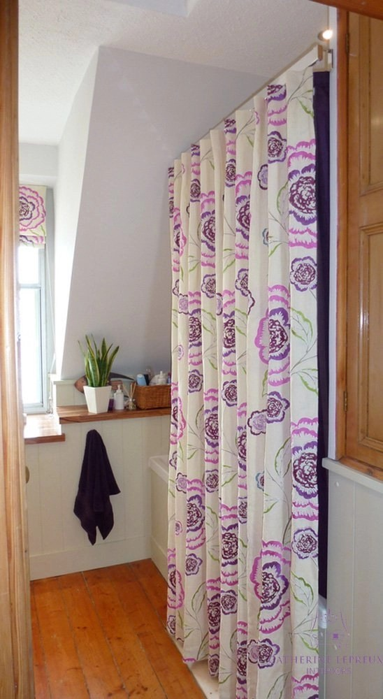 Shower curtains: Curtains & Blinds for Unusual Shaped Windows