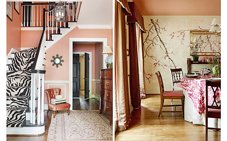 Catherine M. Austin Interior Design/ Stanwyck Entry and Dining