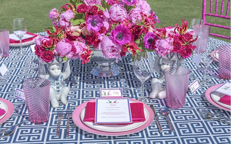 Catherine M. Austin Interior Design/ Table Detail