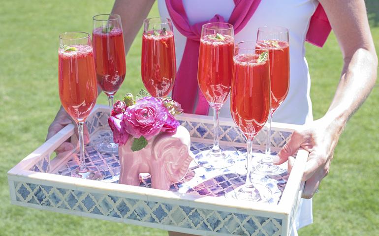 Catherine M. Austin Interior Design/ Pink Lemonade Sparklers