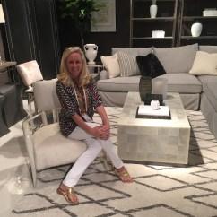 Grey Velvet Slipper Chair Outdoor Replacement Glides Modern Glamour With Bernhardt Furniture - Catherine M. Austin Interior Design