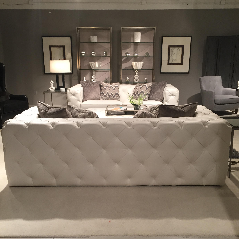 white leather slipper chair drafting ikea modern glamour with bernhardt furniture - catherine m. austin interior design