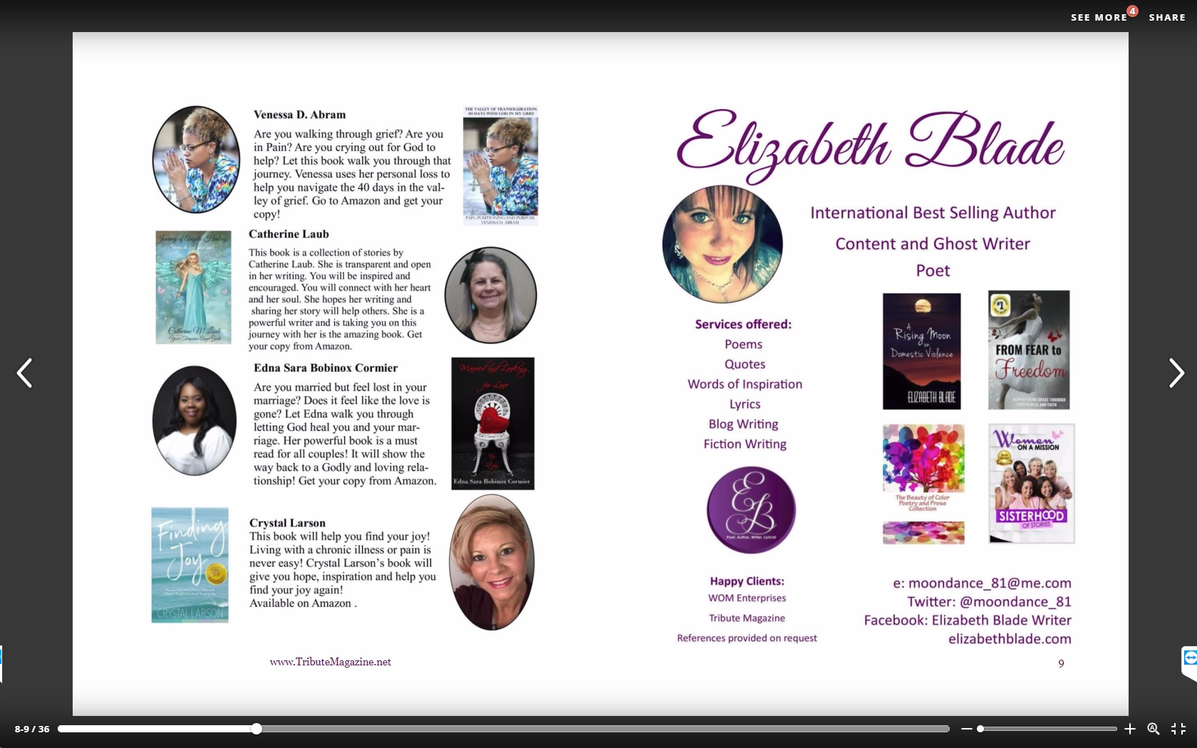 You Can Also See My Book Release Info On Page 8 Of The May Issue Issuu Tributemagazine Docs 6 June 2017pub