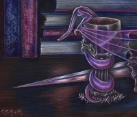 Still Life in Purple