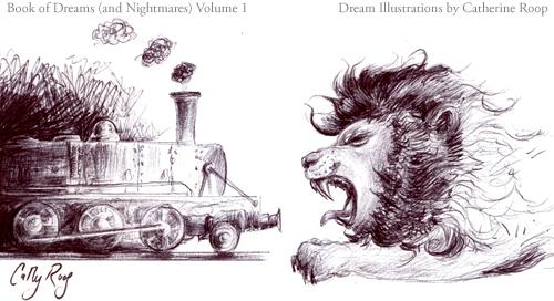 Train-Eating Lion