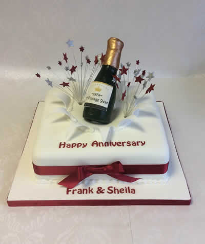 Wedding Anniversary Cakes  Reading Berkshire  South Oxfordshire UK