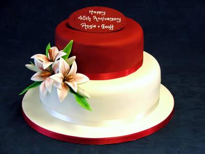 Wedding Anniversary Cakes  Reading Berkshire  South