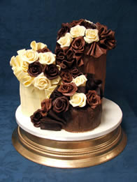 Chocolate Wedding Cakes  Catherines Cakes  Reading
