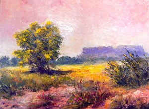 Hill Country Light Original Oil Oainting by Catherine Stephens