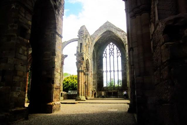 Melrose Abbey, Scottish Borders, Scotland