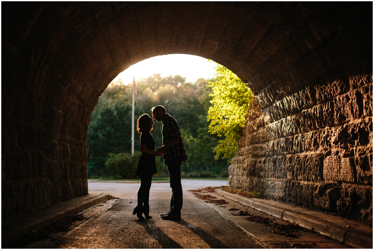 Milwaukee Hubard Park Engagement Pictures