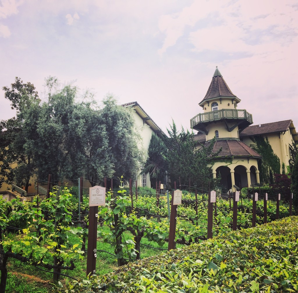 Wine Country Weekend - Chateau St. Jean Winery