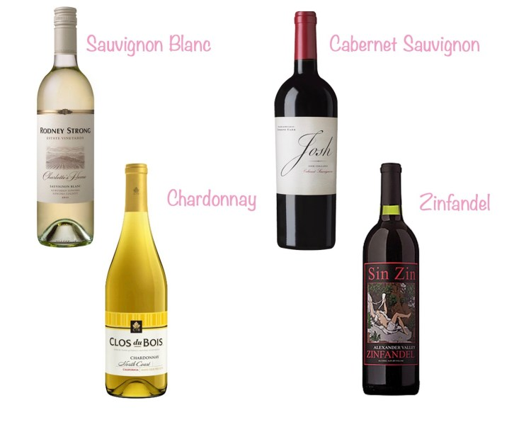 Wine Wednesday: 4 Go-To Wines!