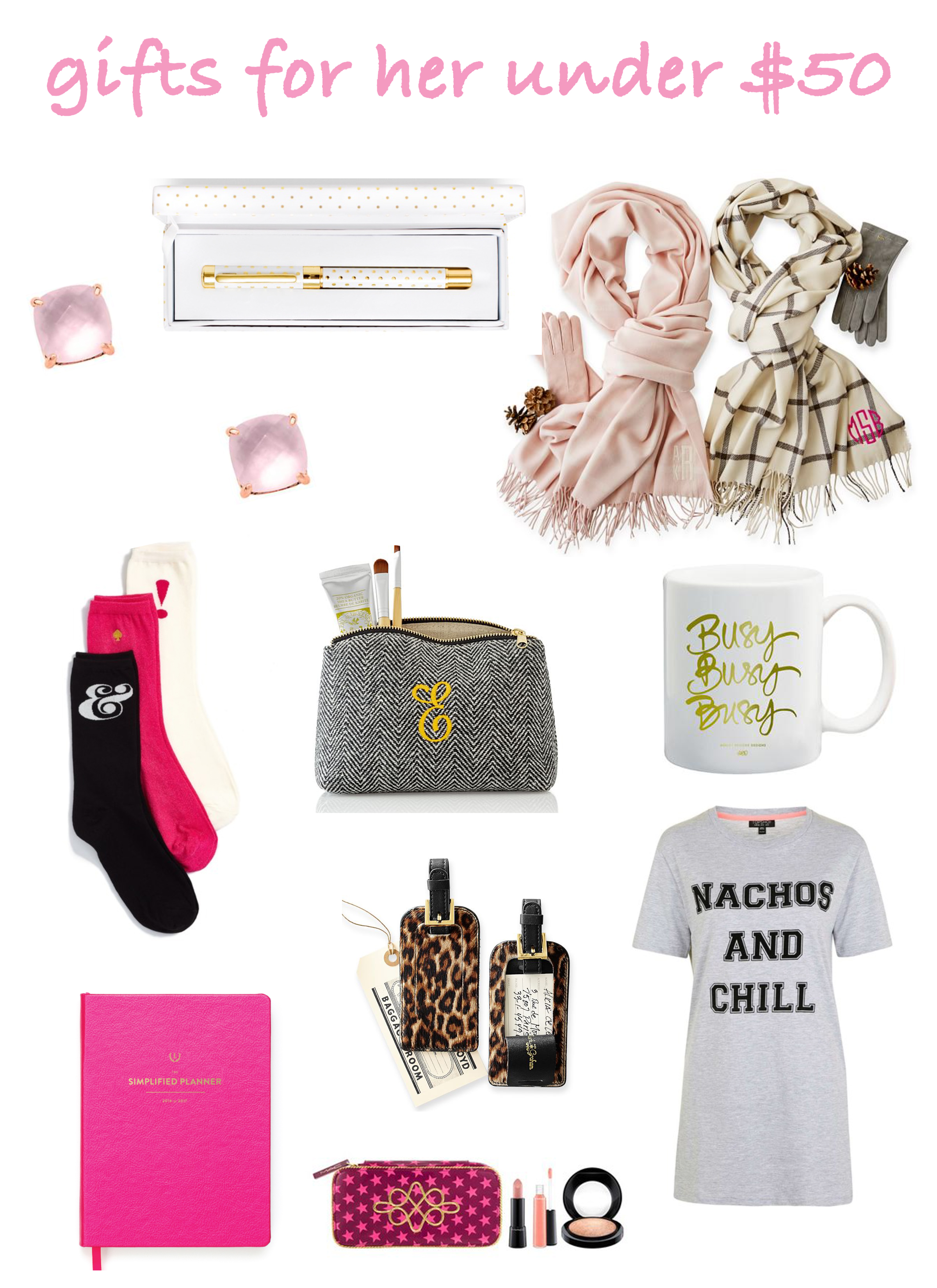 Gift Guide for Her - #GiftsUnder50 #Holiday #GiftsforHer #StockingStuffer #GiftsforGirls #GirlGifts