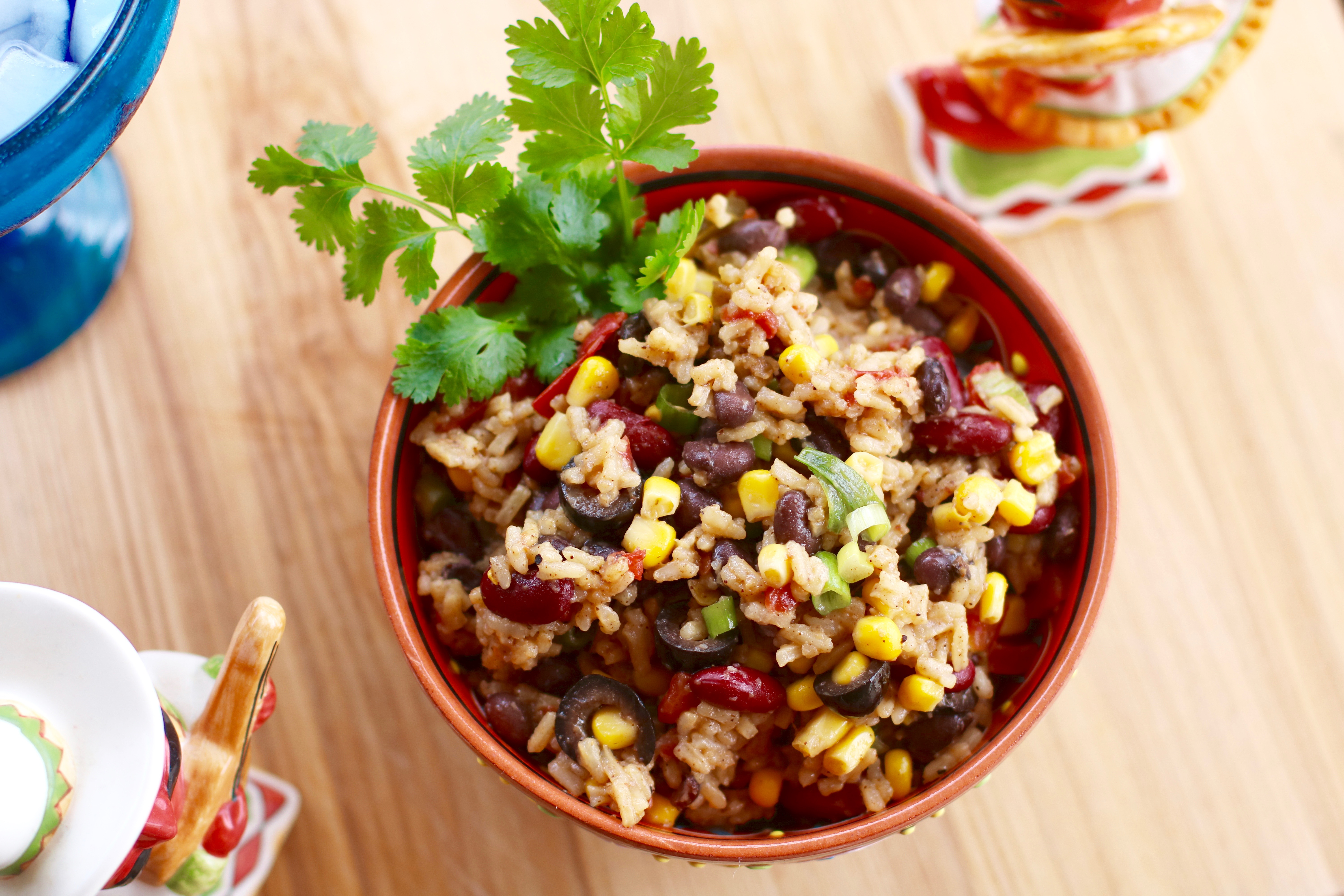 Festive Mexican Rice #Rice #SideDish #RiceDish #Mexican #MexicanRice