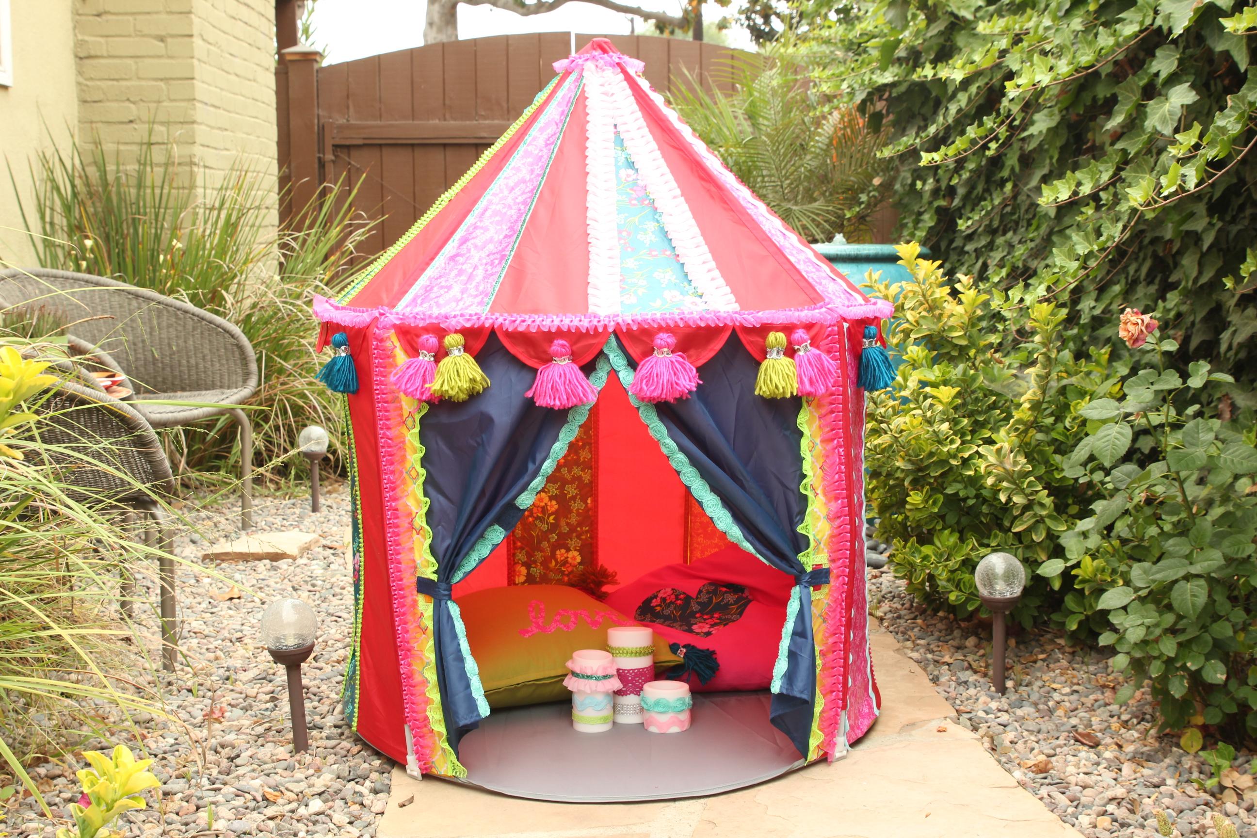 Ikea Hack! Make a Boho Play Tent from the CIRKUSTLT Tent