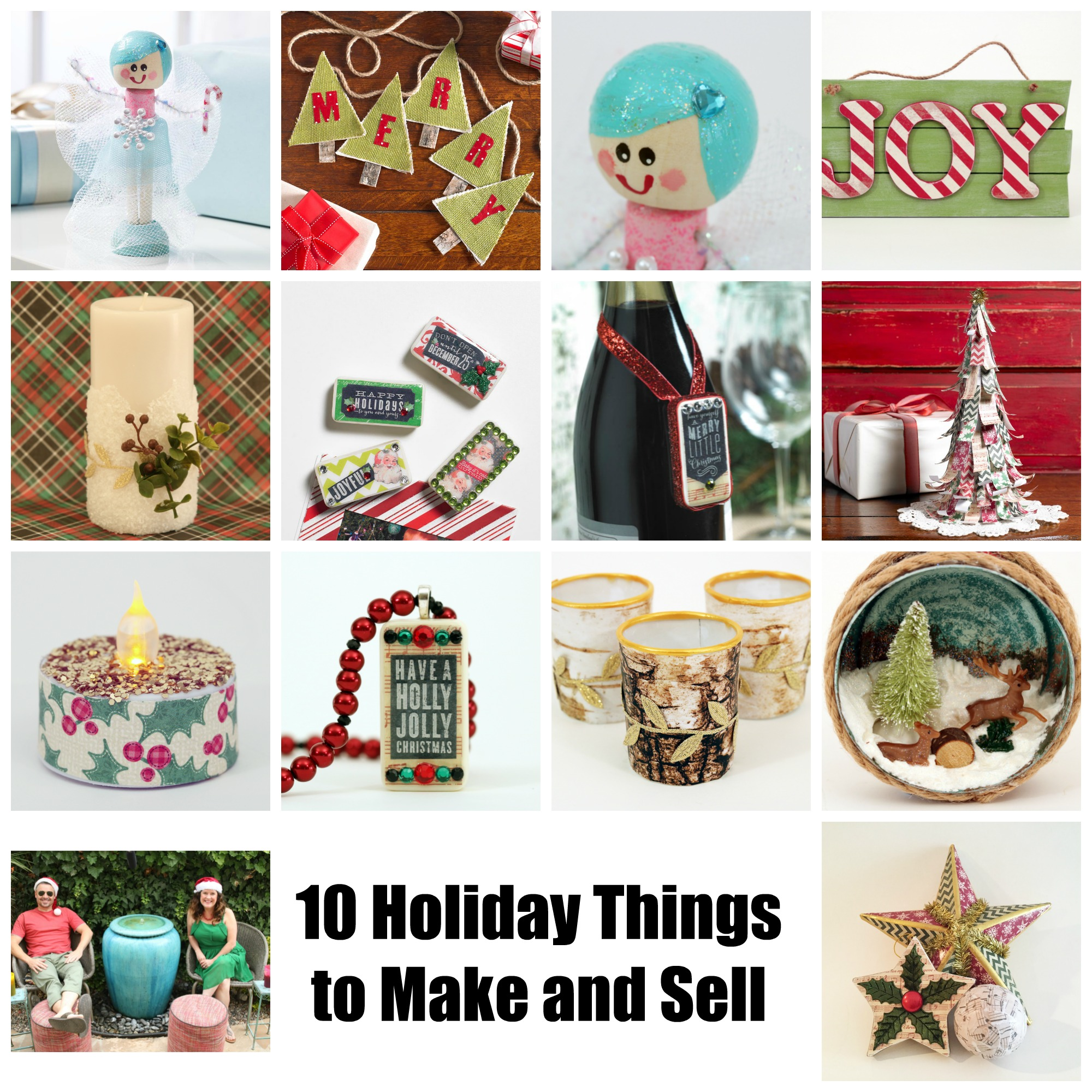 10 Holiday Crafts to Make and Sell - Cathie Filian & Steve ...