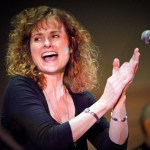 Cathie Ryan performs at The Santuary, Chatham, NJ with Matt Mancuso on fiddle and Patsy