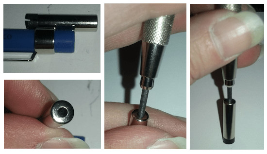Lead Pointer in the Removable Cap
