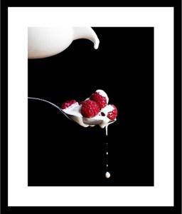 04_sqframe-Cream Jug pouring on Raspberries_7283
