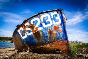 453_Derelict Boat Bembridge Harbour_9198