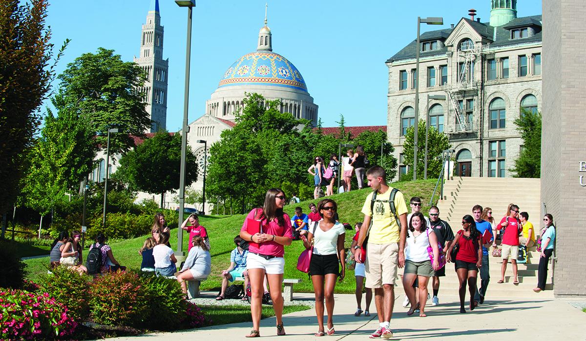 Visit Catholic University  Undergraduate Admission
