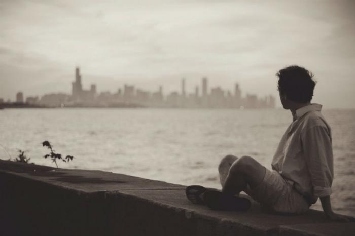 Introvert man.