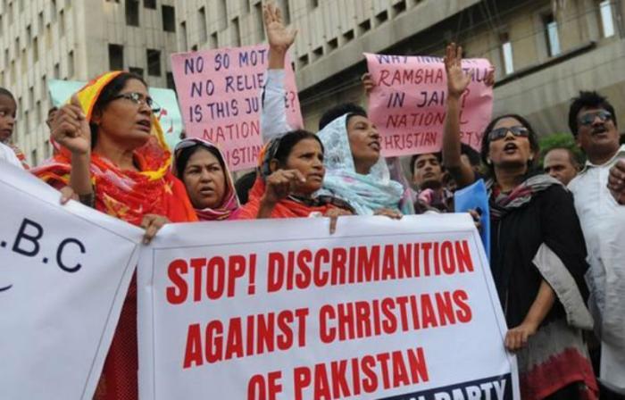 Christians suffer persecution throughout Pakistan.