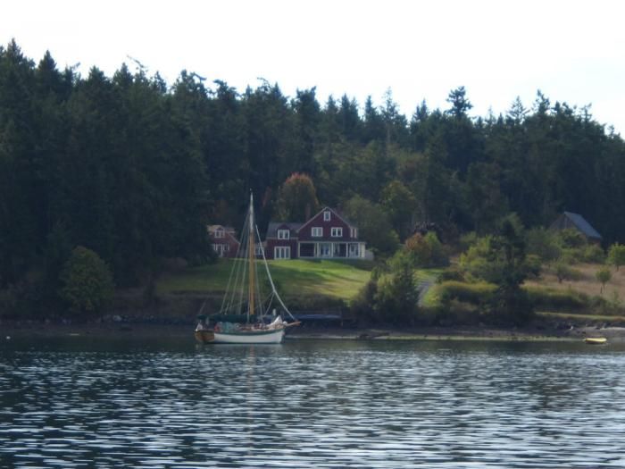 Visit the bays around Shaw Island as well.