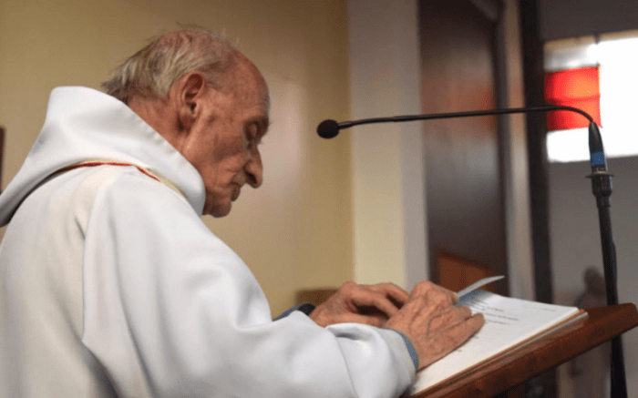 Father Jacques Hamel was martyred during Mass.
