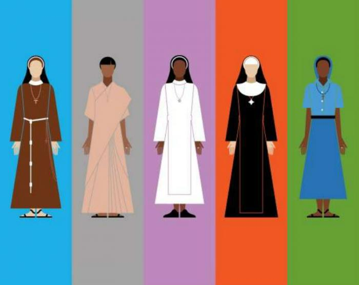 "An illustration from ""Looking Good: a visual guide to the nuns"