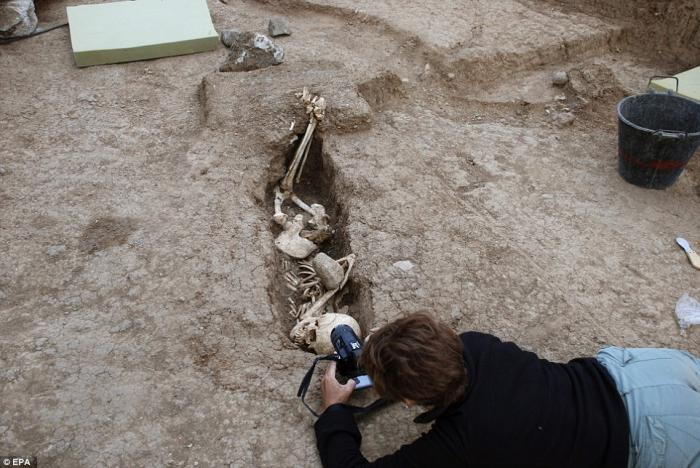 The remains have been dated back to the 1500s, and have undergone DNA testing to confirm their origin.