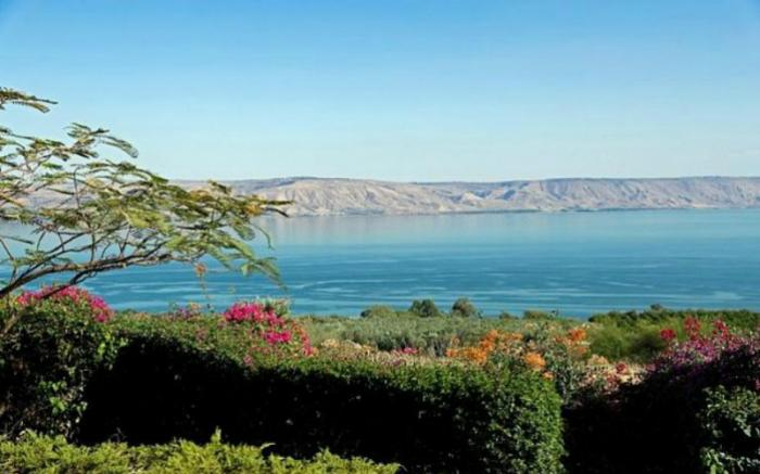 The drought has left the Sea of Galilee at its lowest in the past century.